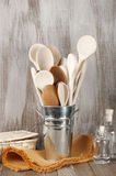 Rustic kitchen accessory Stock Images