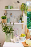 Rustic kitchen Stock Image