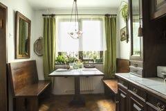 Rustic kitchen Stock Photos