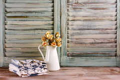 Rustic kitchen still life Royalty Free Stock Image