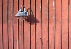 Rustic lamp of metal Royalty Free Stock Photo