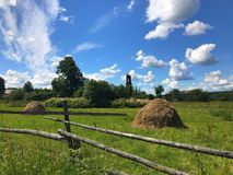 Rustic landscape Royalty Free Stock Photos