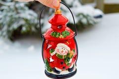 Rustic lantern Stock Images