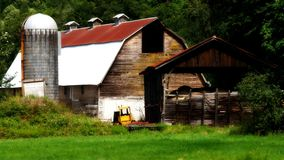 Rustic large barn Stock Images