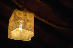 Rustic light. In an alpine farm, west Alps, Italy Stock Photography