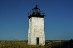 Rustic Lighthouse in Field Royalty Free Stock Photo