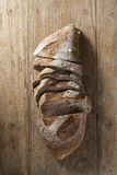 Rustic loaf of bread. Royalty Free Stock Images