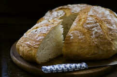 Rustic loaf of bread Royalty Free Stock Photo