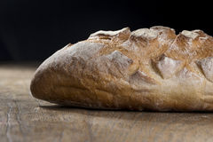 Rustic loaf of bread. Royalty Free Stock Photography