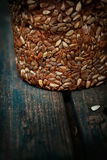 Rustic loaf of bread Royalty Free Stock Images