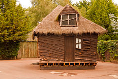 Rustic log cabin Royalty Free Stock Photos