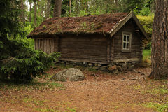 Rustic log house Royalty Free Stock Photography