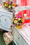 Rustic lovely and romantic decoration Royalty Free Stock Photo