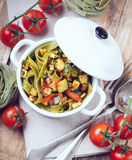 Rustic lunch Royalty Free Stock Images