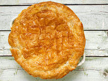 Rustic meat potpie Royalty Free Stock Photos