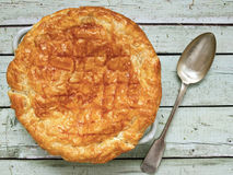 Rustic meat potpie Stock Images