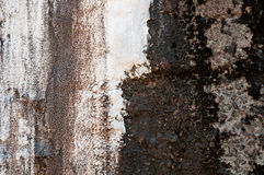 Rusty metallic background Stock Image