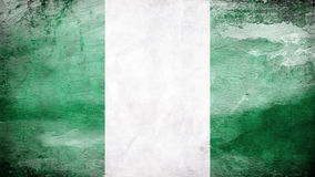 Rustic Nigerian Flag. Rustic look at an Nigerian flag Stock Photo