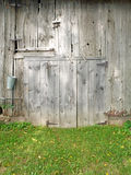 Rustic nineteenth century barn door Royalty Free Stock Photo