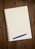 Rustic note pad Backdrop Royalty Free Stock Images