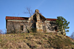 Rustic old abandoned house Stock Photo