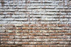 Rustic old background. Brick wall and cement rustic old background stock images
