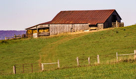 Rustic Old Barn – Virginia, USA Stock Photo