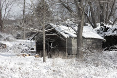 Rustic Old Barn Stock Photography