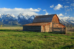Rustic old barn. Stock Photos