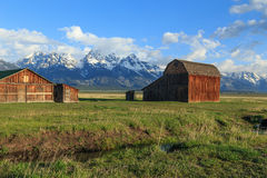 Rustic old barn. Royalty Free Stock Photos