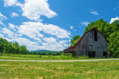 Rustic Old Barn in Virginia Royalty Free Stock Photo