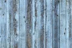 Rustic old blue wood plank background. Rustic old weathered blue wood plank background Royalty Free Stock Images