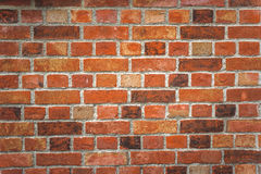 Rustic Old Brick Wall Texture Pattern Stock Photography