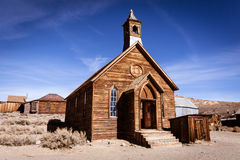 Rustic old church Stock Image