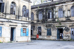 Rustic Old Customs House in Bangkok Royalty Free Stock Images
