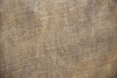 Rustic Old Fabric Burlap Texture Background stock photo