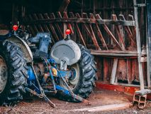 Rustic old Farm Tractor Stock Photo