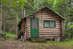 Rustic Old Log Cabin Royalty Free Stock Photo