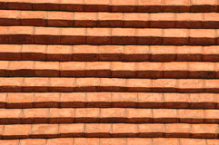 Rustic old red brick wall Royalty Free Stock Image