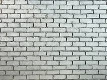 Rustic old white Brick Wall Background Image royalty free stock images