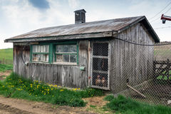 Old chicken coop royalty free stock images image 6652379 for Old farm chicken coops