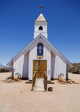 Rustic old wooden church Royalty Free Stock Photos