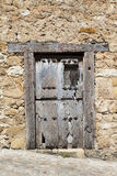 Rustic old wooden door Stock Image