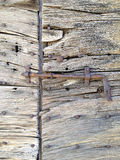 Rustic old wooden Door Stock Photo