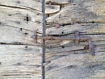 Rustic old wooden Door Royalty Free Stock Photo