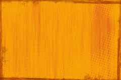 Rustic orange wood panel background Stock Image