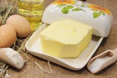 Rustic organic foods Stock Photos