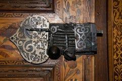 Rustic oriental lock Stock Photo