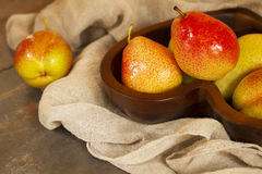 Rustic Pears Royalty Free Stock Photo