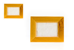 Rustic picture frame Royalty Free Stock Photos